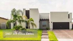 New Listing!!!! 2807 T. S Eliot Drive in Laredo, Texas. 78045.