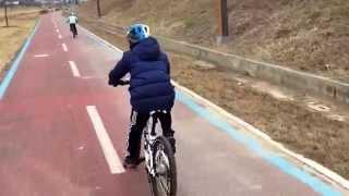 [Kids Road Bike] Merida dakar 620 624.. 2015 1st riding 24km (어린이 로드바이크)