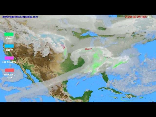 <span class='as_h2'><a href='https://webtv.eklogika.gr/' target='_blank' title='Precipitation forecast USA & Canada // modelrun: 00h UTC 2020-02-24'>Precipitation forecast USA & Canada // modelrun: 00h UTC 2020-02-24</a></span>