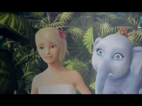 Barbie como la Princesa de la Isla animación española