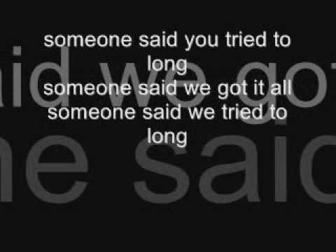 sugar ray - someday (lyrics)