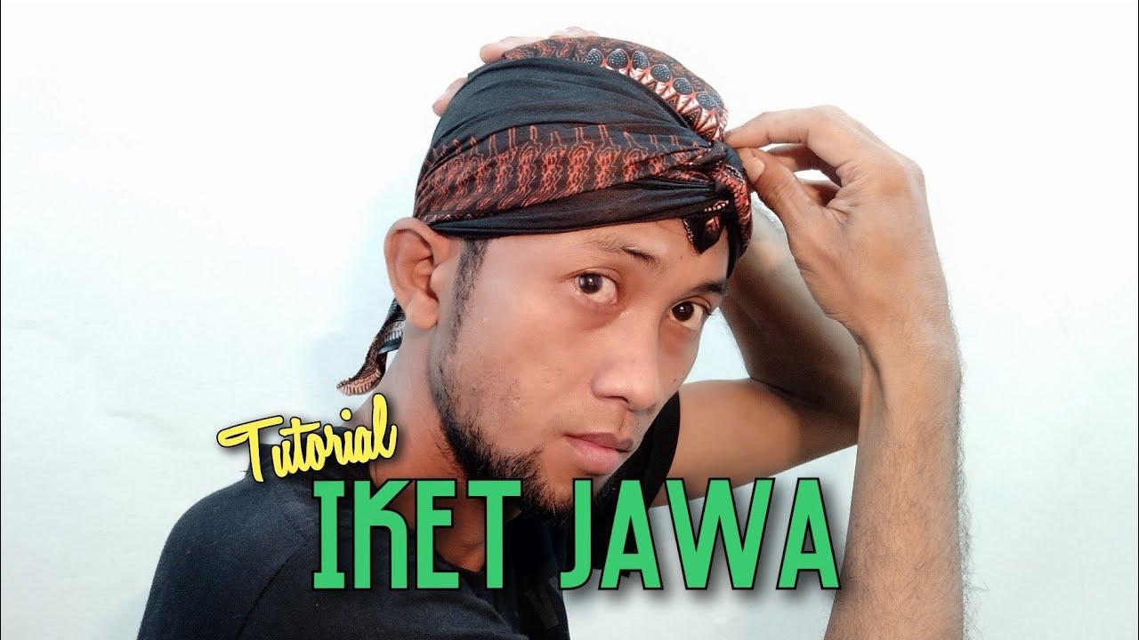 Tutorial Iket Udeng Jawa Solo Semarang Banyumasan Dan Yogyakarta Youtube