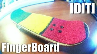 [dit] How To Make Fingerboard (deck)