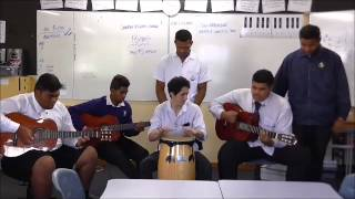 Otahuhu College Music Department - Y13 Comp 2015 - Broken in two