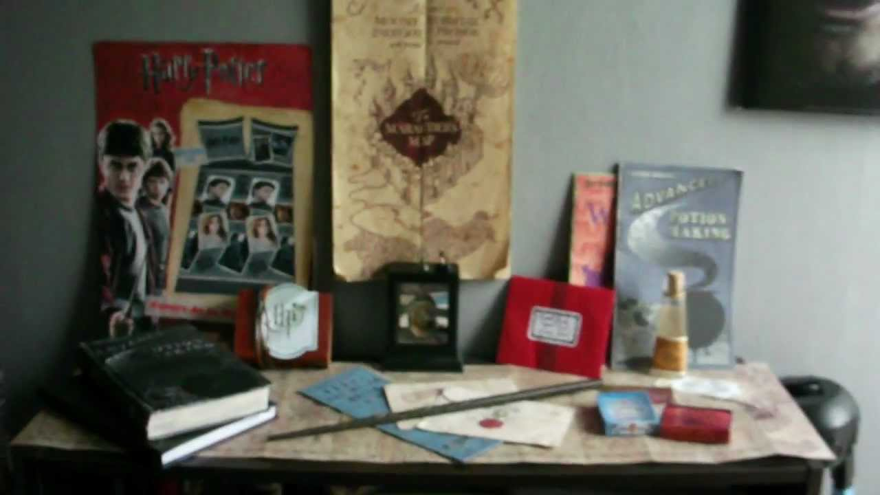 Ma nouvelle chambre harry potter youtube for Chambre harry potter
