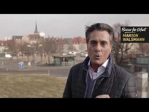 Burkard Pfrenzinger unterstützt Marion Walsmann als OB-Kandidatin für Erfurt