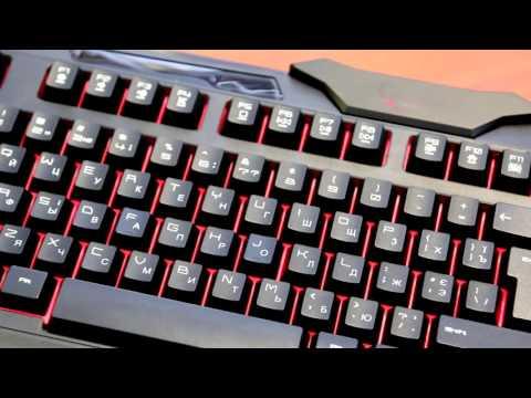 Игровая клавиатура Gembird KB-UMGL-01-UA.  Обзор.