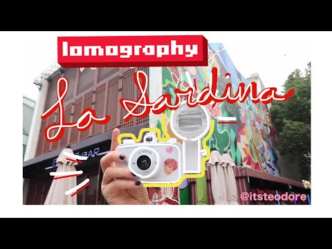 Lomography La Sardina   Shanghai Trip, The bund, Tianzifang and still no luggage