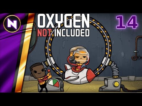 Oxygen Not Included - Launch Testing #14 STABILISING THE BASE