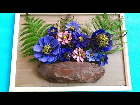 Цветы из природных материалов своими руками на тему осень