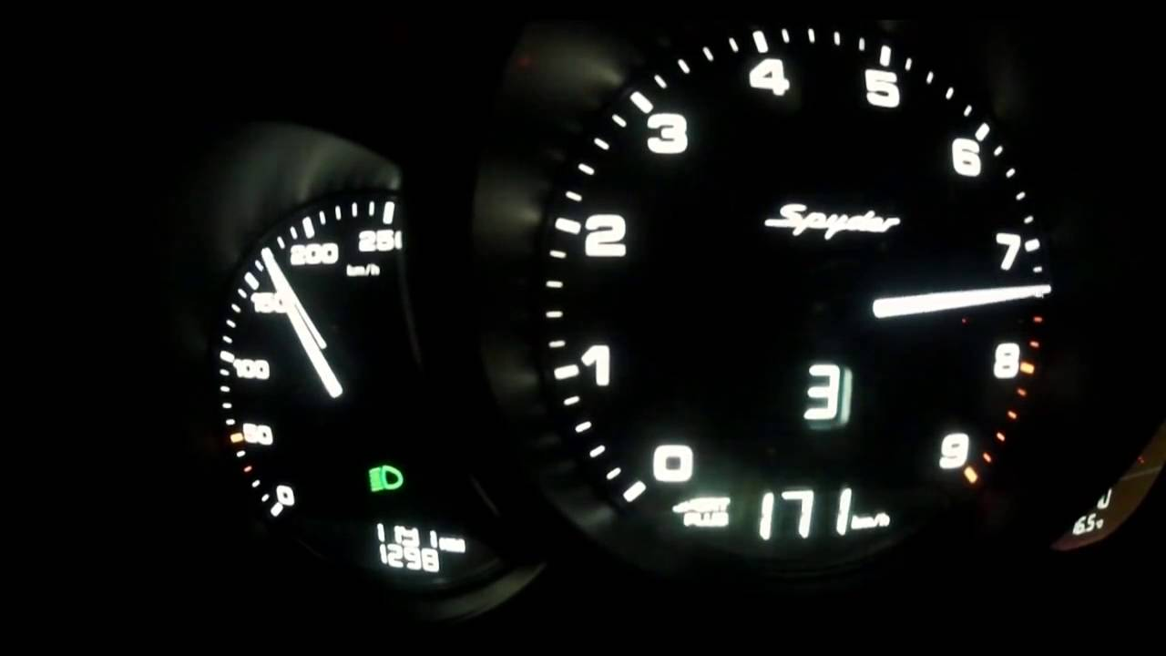 Top Speed Porsche Boxster 300 Kmh Youtube