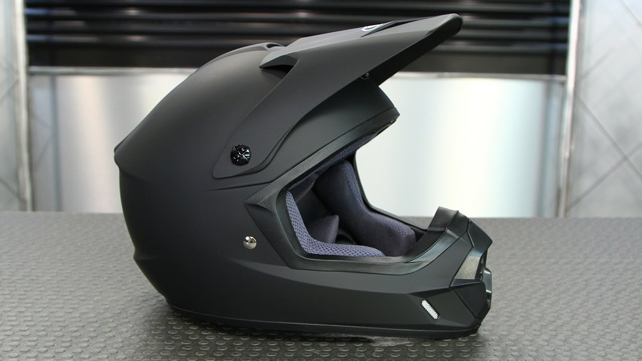 Full Motorcycle Helmet >> HJC CS MX 2 Matte Black Helmet | Motorcycle Superstore ...