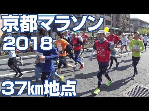 京都マラソン2018【37キロ地点を通過した全ランナー】