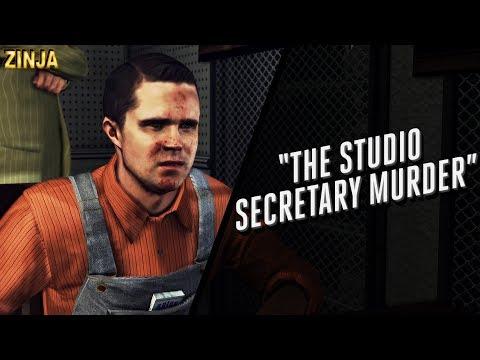 "LA Noire Remastered: Case #14 - ""The Studio Secretary Murder"" 5 Star walkthrough (w/cutscenes)"