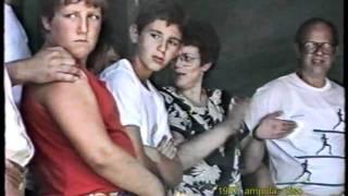 1987 AMPOLA DI LEDRO.  la festa  campestre poi  sparita con il...biotopo