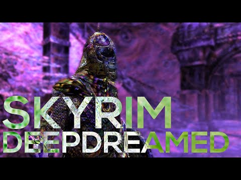 I Ran All the Textures in Skyrim Through DeepDream and Created a