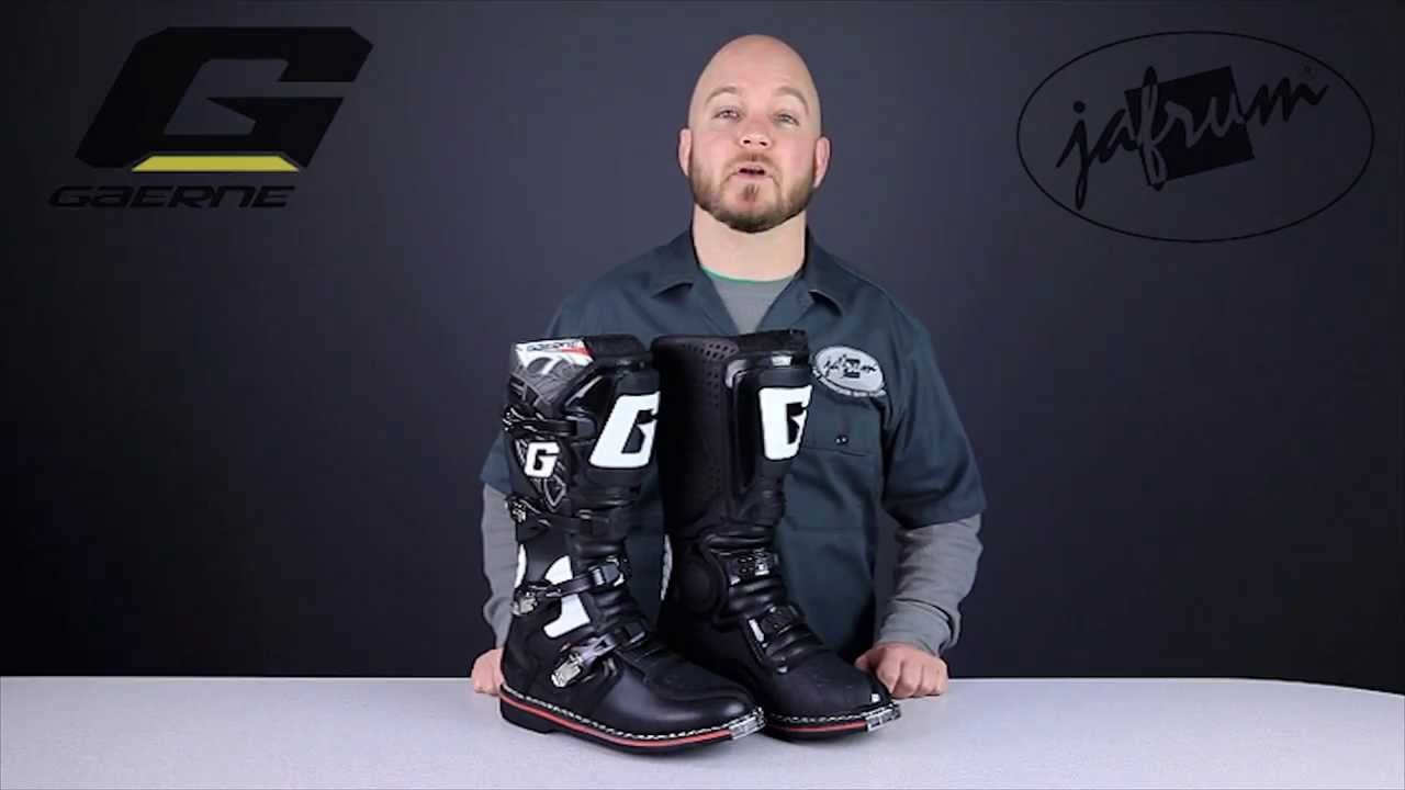 b218a8179e9 Gaerne GX-1 Offroad Boots Review at Jafrum.com - YouTube