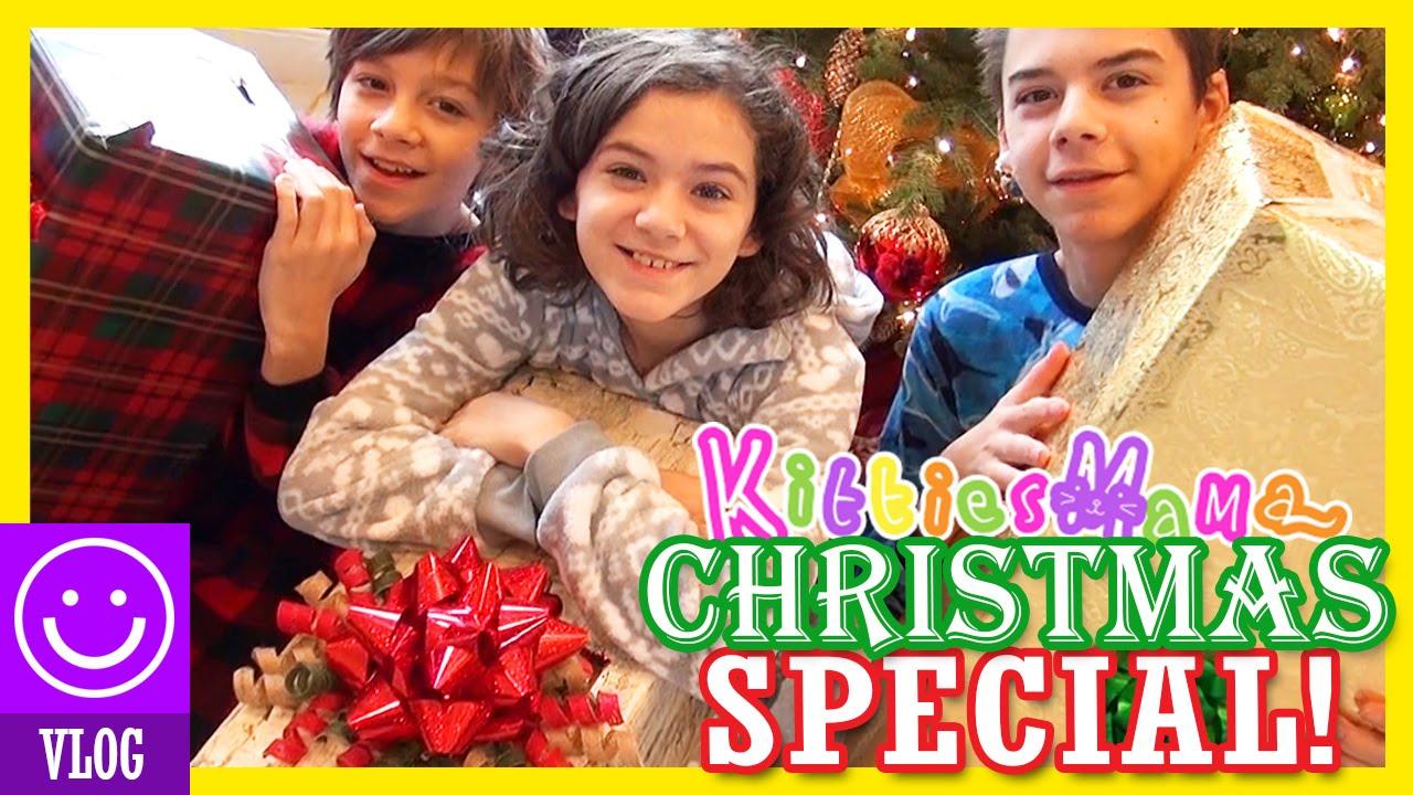 THE KITTIESMAMA CHRISTMAS SPECIAL 2015! - YouTube