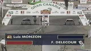 CARRERA DE CAMPEONES Rally Master Internacional Luis Monzon vs F delecour 2da ronda 8vos de final