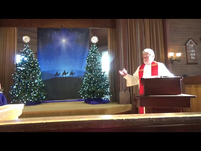 Rev. George McLaird Message Dec 15 2019