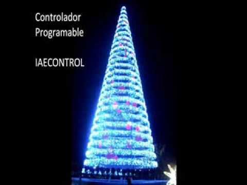 Arbol de navidad minimalista programable tecnolog a led - Arbol navidad led ...