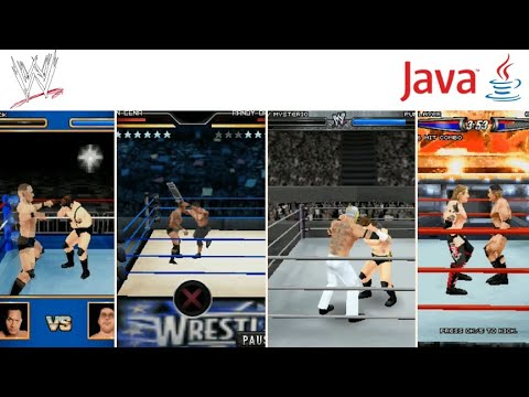All WWE Games In Java Mobile