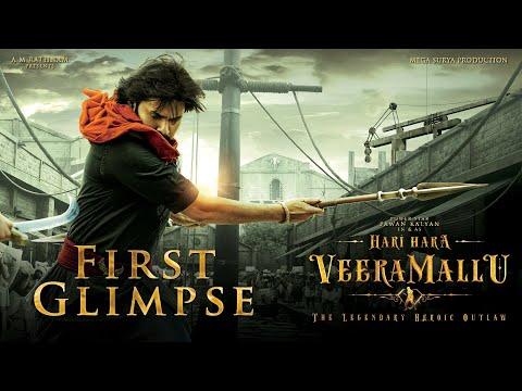 Hari Hara Veera Mallu First Glimpse   Pawan Kalyan   Krish   #HHVM