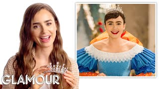 Lily Collins Breaks Down Her Best Movie Looks  Glamour