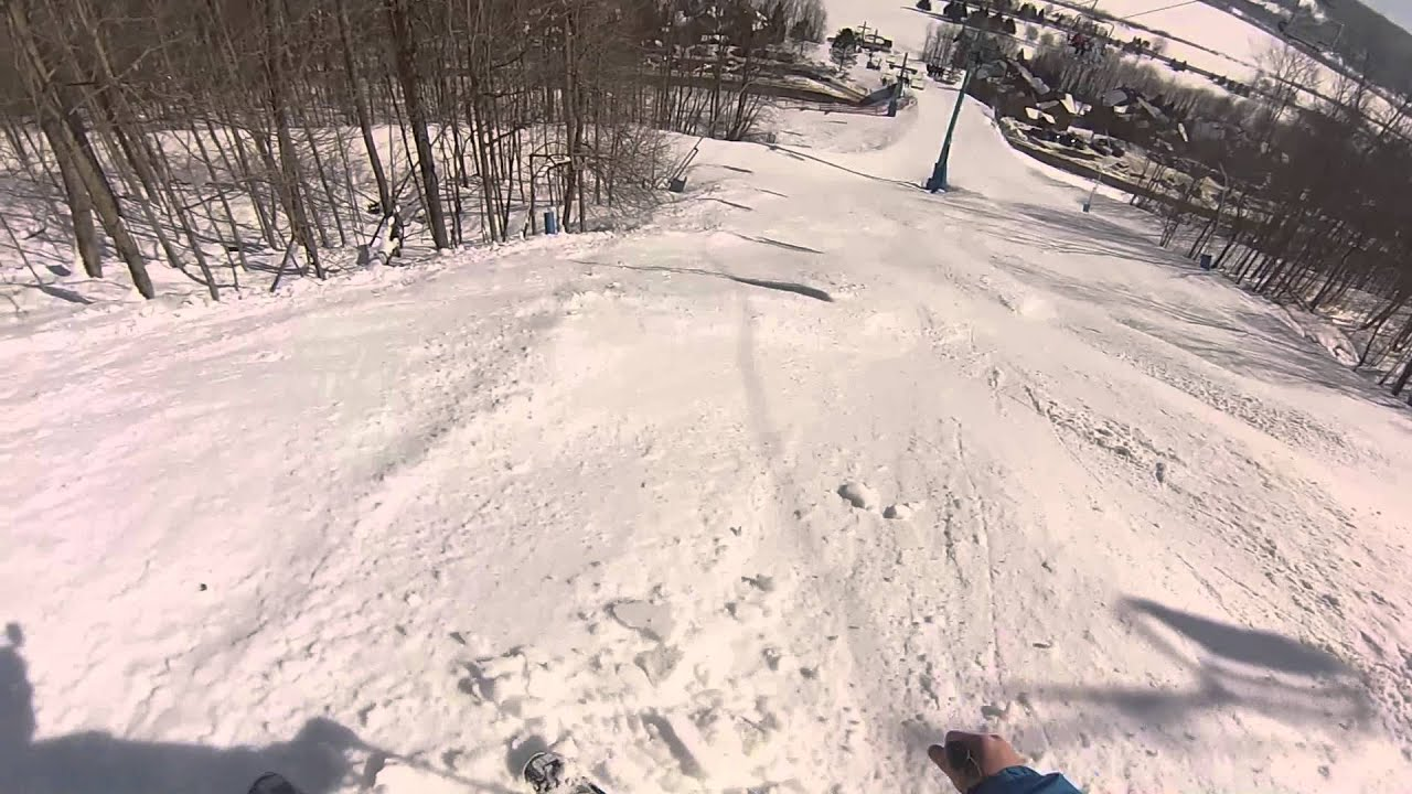 Holiday Valley - 2013/03/09 - The Wall - YouTube