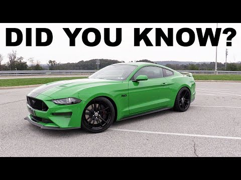 10 Things You Probably Didn't Know About The Ford Mustang! (S550)