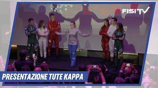 Gli atleti FISI presentano le nuove tute Kappa al FISI in Tour Opening