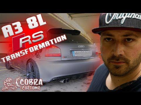 A3 8L RS TRANSFORMATION   Cobra Customs  