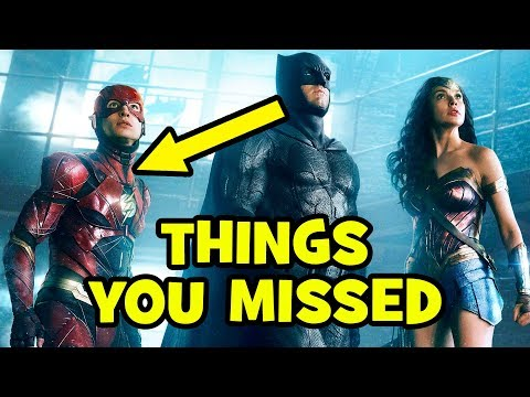 Justice League Trailer EASTER EGGS & Things You Missed