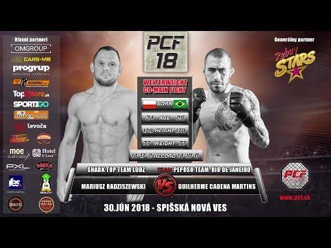PCF 18   Mariusz Radziszewski vs Guilherme Cadena Martins