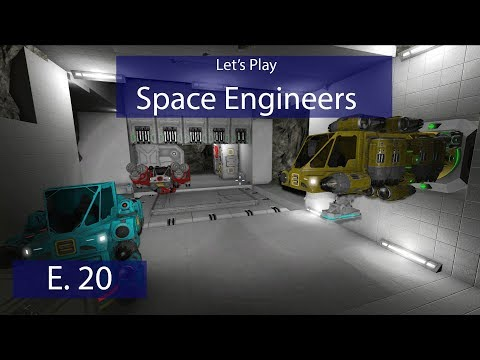 Military Drydock - Ep. 20 - Emergency Repair Ship Construction! - Let's Play Space Engineers
