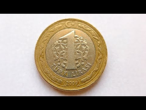 1 Turkish Lira Coin :: Turkey 2009