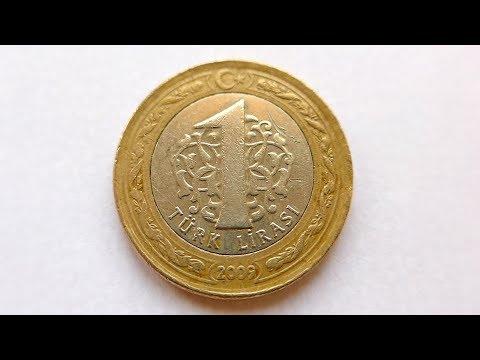 1 Turkish Lira Coin Turkey 2009