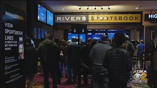 Bettors Pack Rivers Casino For First Super Bowl With Sportsbook