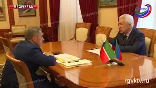 В Махачкале  обсудили приоритетные направления взаимодействия с Татарстаном