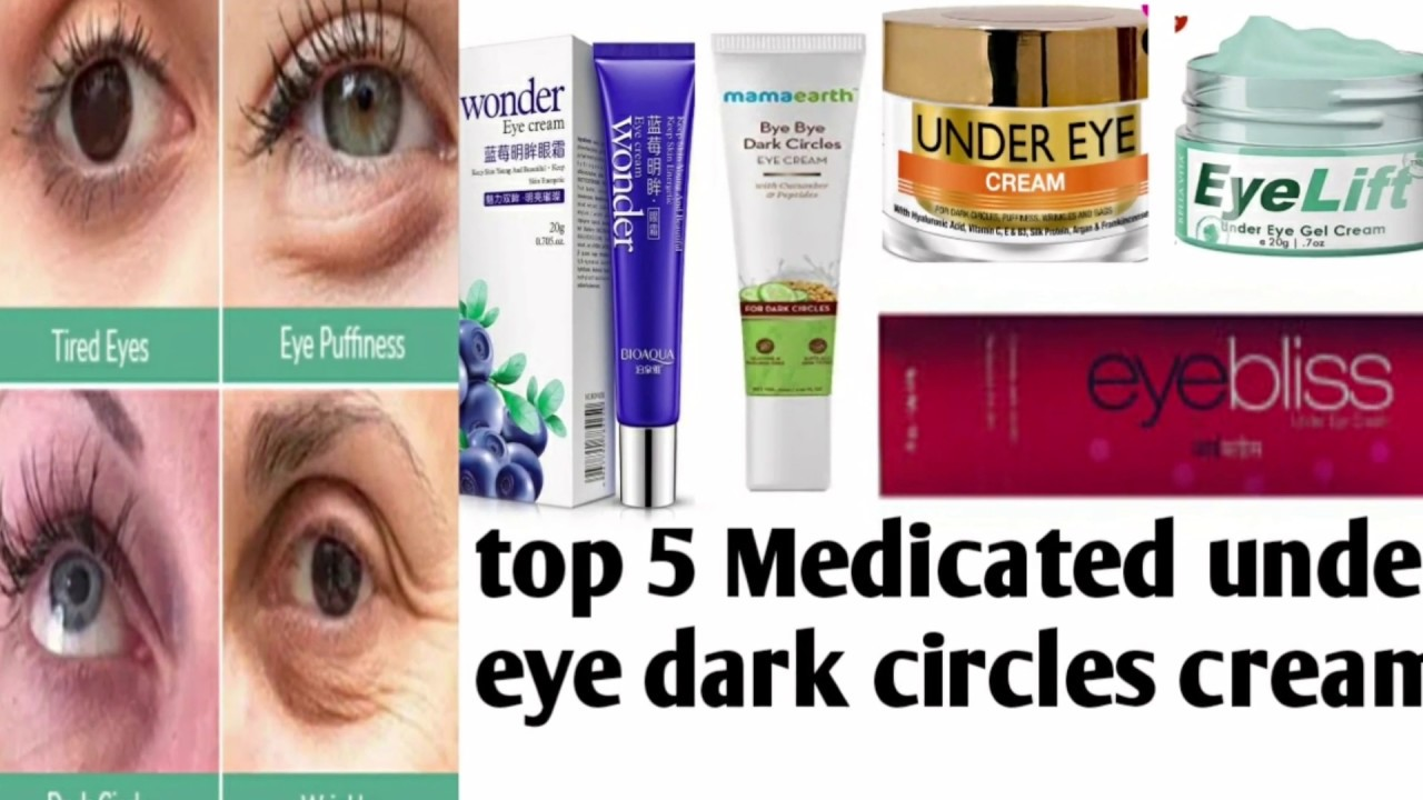 5 Best Under Eye Cream In India For Dark Circles How To Remove