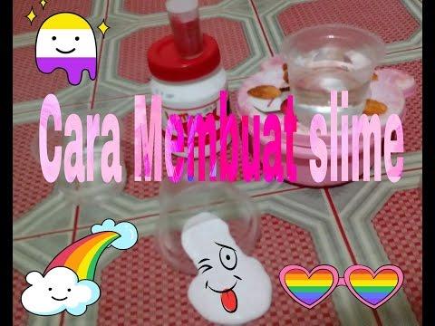 cara-membuat-slime//dengan-mudah👍👍😇😀