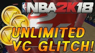 *NEW* UNLIMITED VC GLITCH! 4,000~5000 VC every times! NBA 2K18 after 1.02 patch