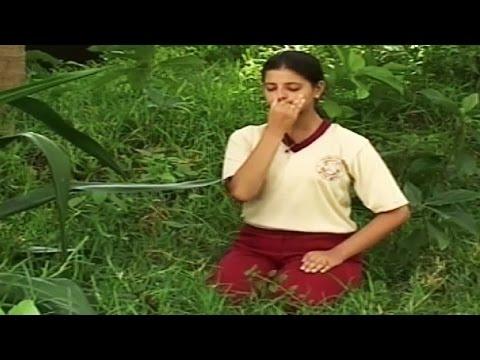 Yoga Exercise for Beginners - Chandra Nadi Pranayama (Left Nostril Breathing)