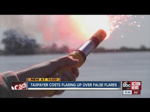 Taxpayer costs flaring up over false flares