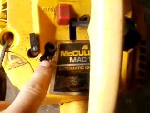 Mcculloch 140 For Sale Youtube