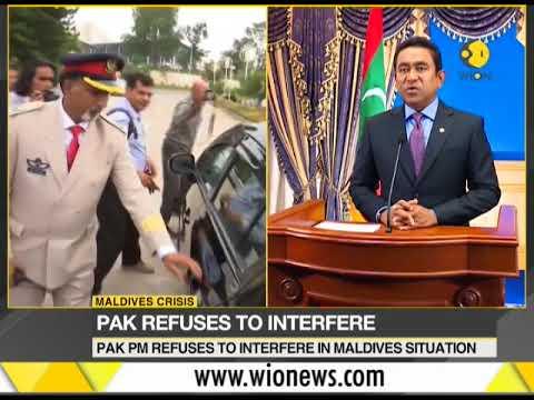 Maldives crises: Friendly Pakistan snubs Maldives?