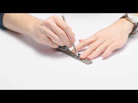 SKAGEN Watch Mesh Strap Adjustment Instructional