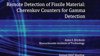 DOE NNSA SSGF 2011 - Remote detection of fissile material