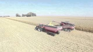 Iowa Harvest 2015 Nora Springs, Iowa. Double Century Farms