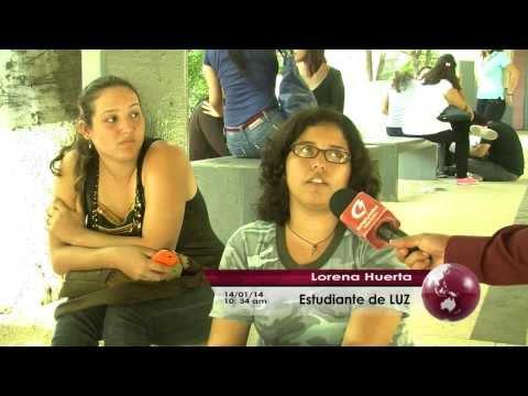 Odual Ramírez, reportaje sobre la Universidad del Zulia.